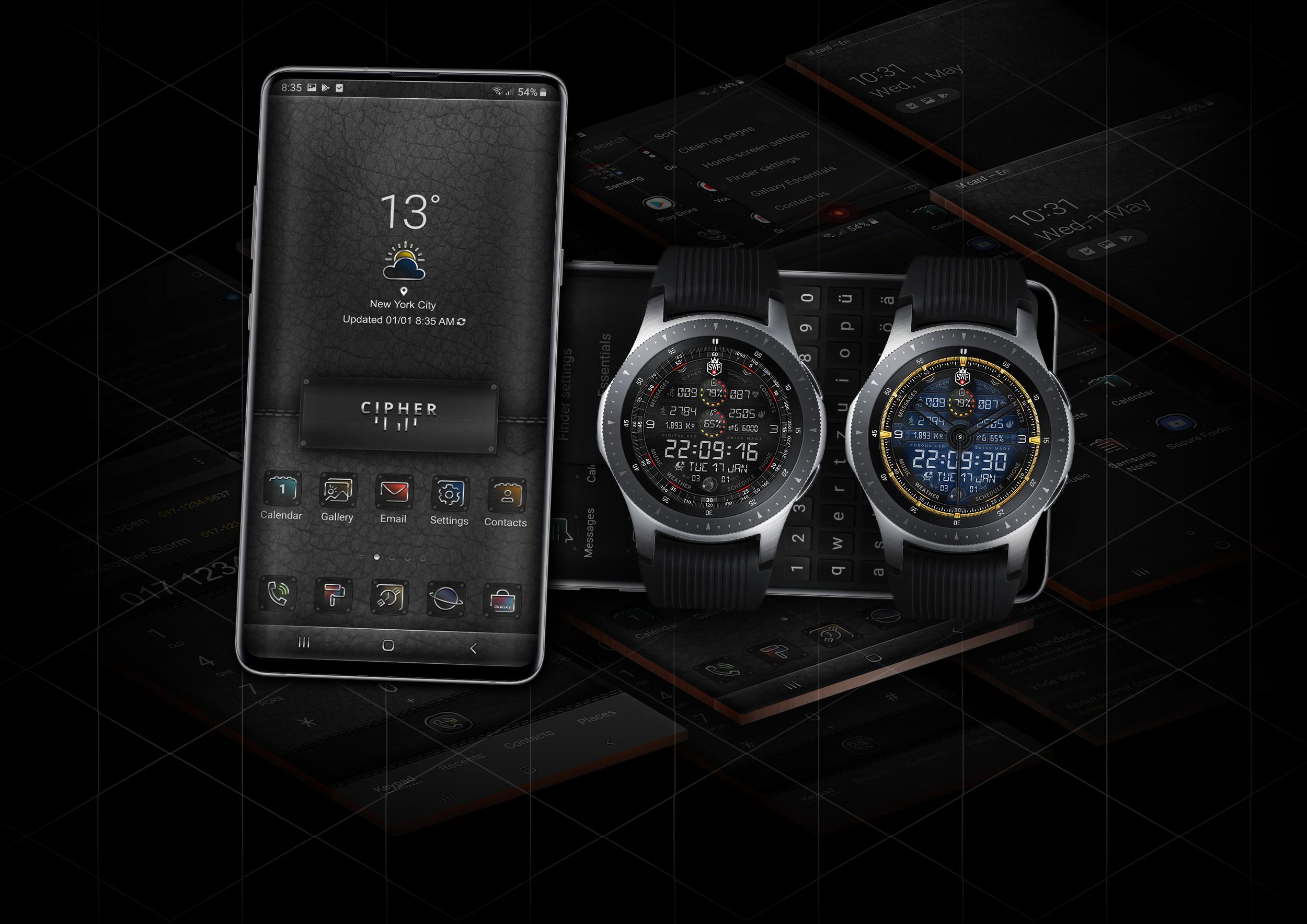 Home - Watch Face | SWF Swiss Watch Face