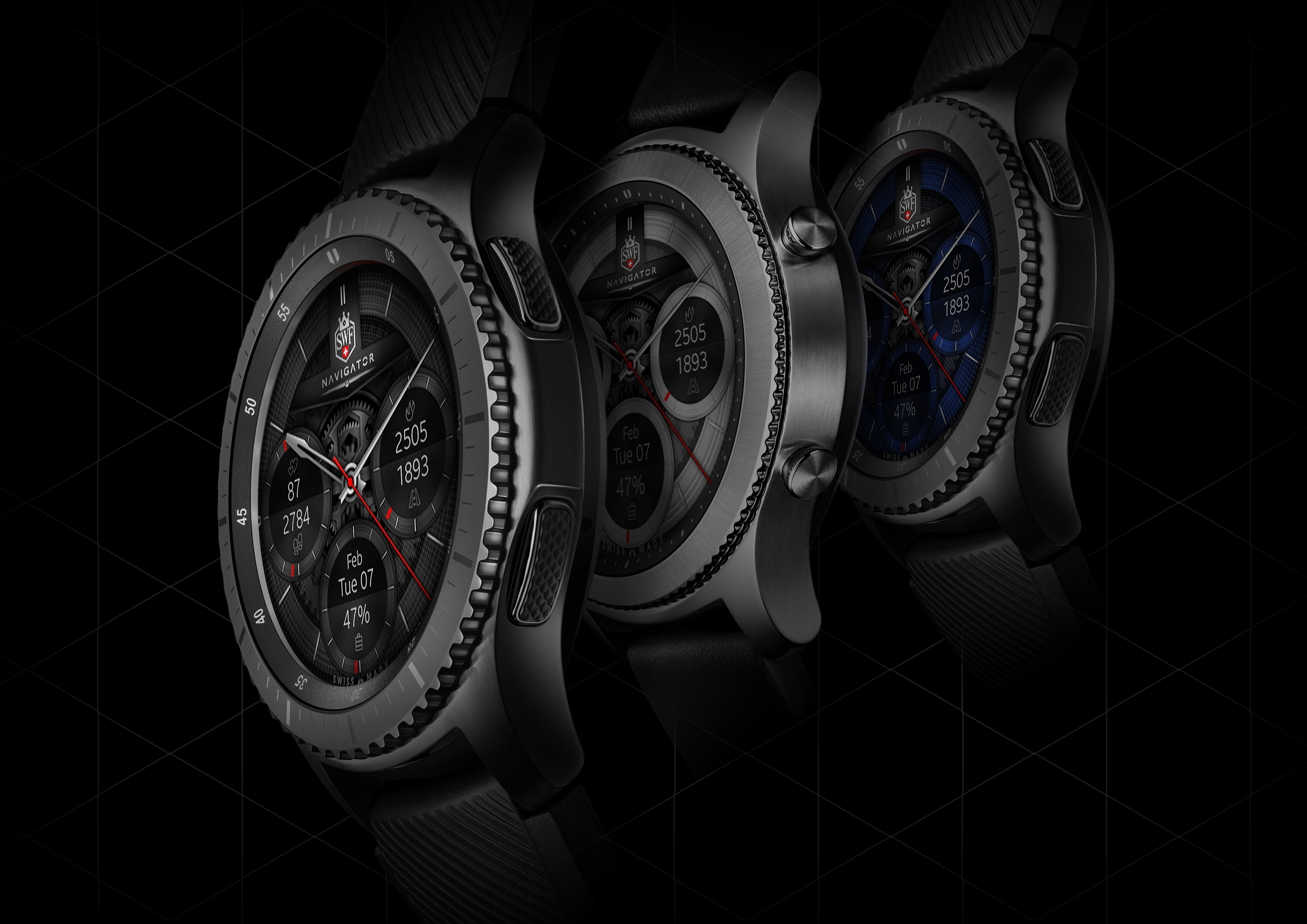 Navigator Series - Watch Face | SWF Swiss Watch Face