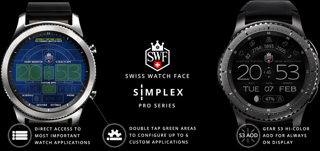 Simplex Series Watch Face Swf Swiss Watch Face