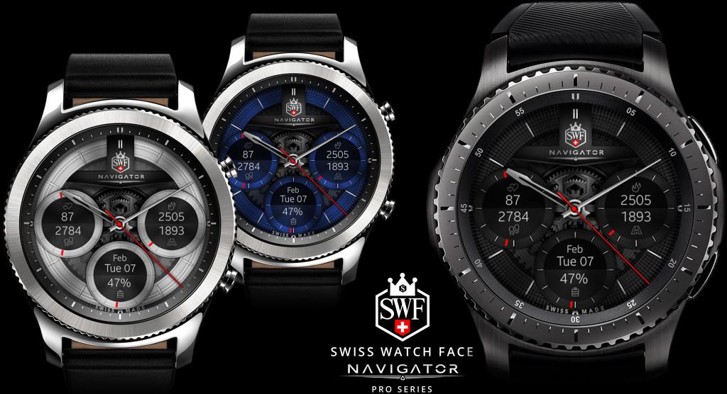 Navigator Series - Watch Face | SWF Swiss Watch Face