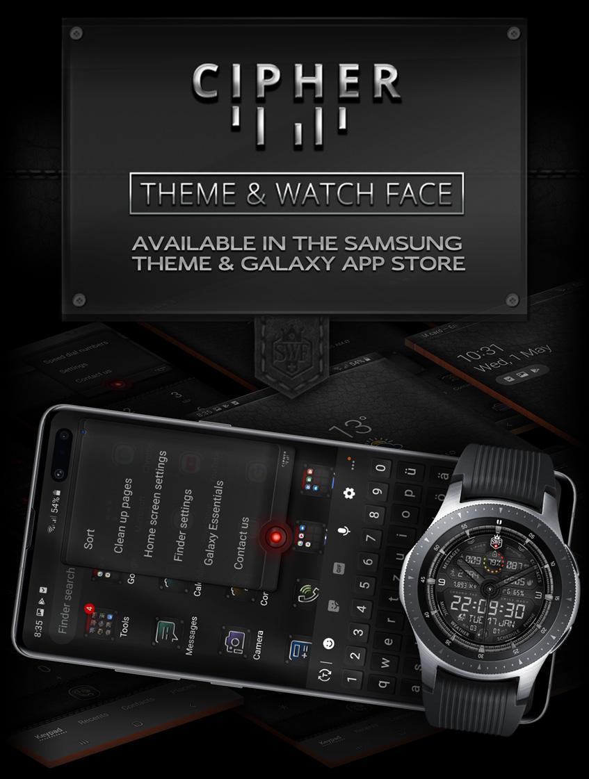 Cipher Series - Watch Face | SWF Swiss Watch Face